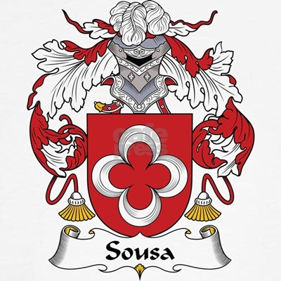 The Sousa II Family Crest. Be proud of your genealogy and family name!