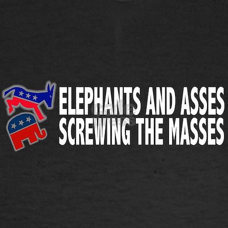elephants and asses