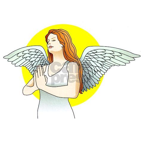 prayer tattoo. Angel Prayer Tattoo Art Wall