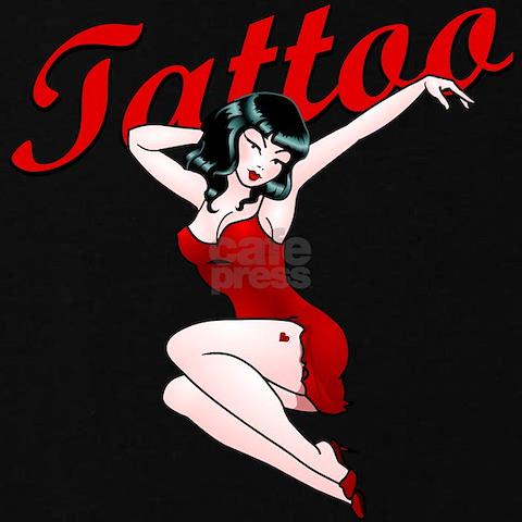 Pin Up Girl Tattoos On Women. Pin-Up Girls Tattoo Women#39;s