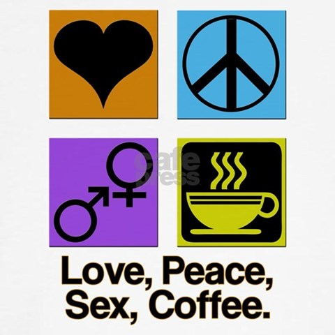 love peace sex