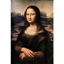 The Mona Lisa Postcards (Package of 8)