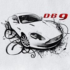 ASTON MARTIN DB9 t-shirt