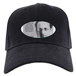 Erwin Schrodinger: Truth Black Cap