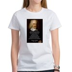Thomas Hobbes: War Women's T-Shirt