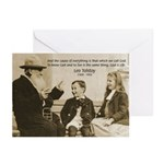 Leo Tolstoy: God Quotes Greeting Cards (Package of
