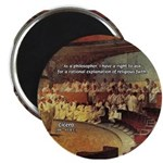 "Cicero: Philosophy Religion 2.25"" Magnet (10 pack)"