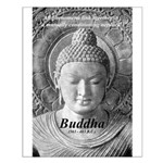 Buddha Buddhism Quote Picture Small Poster