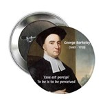 "Philosopher: George Berkeley 2.25"" Button (10 pack"