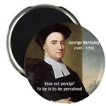 "Philosopher: George Berkeley 2.25"" Magnet (10 pack"