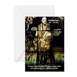 Confucius Greeting Cards (Pk of 10)