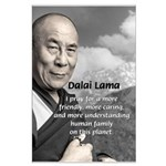 The 14th Dalai Lama Large Poster