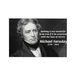 Michael Faraday Rectangle Magnet (100 pack)