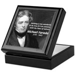 Michael Faraday Keepsake Box