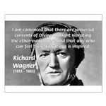 Musician Richard Wagner Small Poster