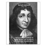 Philosopher Baruch Spinoza Small Poster