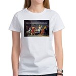 Socrates: Knowledge Books Wisdom Women's T-Shirt