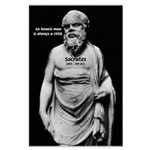 Wisdom of Socrates Large Poster