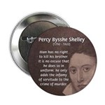 """Writer Percy Bysshe Shelley 2.25"""" Button (10 pack)"""
