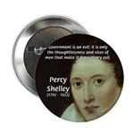 "Romantic Writer: Percy Shelley 2.25"" Button (100 p"
