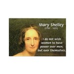 Novelist Mary Shelley Rectangle Magnet