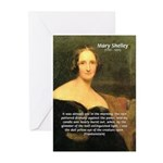 Writer Mary Shelley Greeting Cards (Pk of 10)