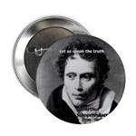 "Schopenhauer Philosophy Truth 2.25"" Button (10 pac"