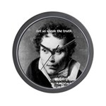 Schopenhauer Philosophy Truth Wall Clock