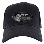 President Ronald Reagan Black Cap