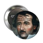 "Writer Edgar Allan Poe 2.25"" Button (10 pack)"