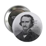 Gothic Edgar Allan Poe Button