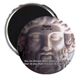 "Plato: Wisdom Knowledge Play 2.25"" Magnet (10 pack"