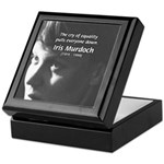 Iris Murdoch Equality Keepsake Box
