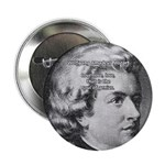 """Music, Genius and Mozart 2.25"""" Button (10 pack)"""