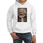 History Analyst Karl Marx Hooded Sweatshirt