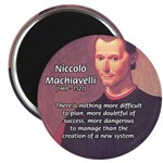 "Political Theory: Machiavelli 2.25"" Magnet (100 pa"