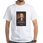 John Locke: Law of Love White T-Shirt