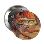 Cynic Philosophy Diogenes Button