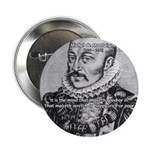 """Power of Mind: Montaigne 2.25"""" Button (100 pack)"""