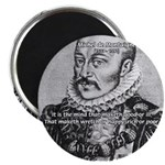 """Power of Mind: Montaigne 2.25"""" Magnet (100 pack)"""