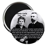 Humanity Marie Curie Magnet