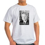 Government Bill Clinton Ash Grey T-Shirt