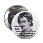 """Freedom of Thought Bruno 2.25"""" Button (100 pack)"""