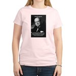 World War 2 Churchill Women's Pink T-Shirt
