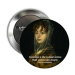 """Sexuality Feminism Goya 2.25"""" Button (10 pack)"""