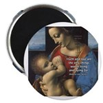"Woman and Child: Da Vinci 2.25"" Magnet (100 pack)"