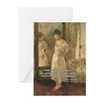 Erotic Impressionist Art Greeting Cards (Package o