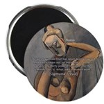 """Freud Female Sexuality 2.25"""" Magnet (100 pack)"""