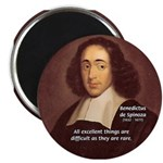 "Spinoza Ethics Philosophy 2.25"" Magnet (100 pack)"