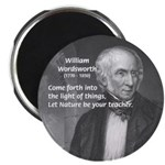 """Nature Wordsworth Poetry 2.25"""" Magnet (100 pack)"""